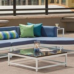 Outdoor Aluminum Chairs Malibu Pilates Chair Exercises Tropitone Furniture Patio Land Usa