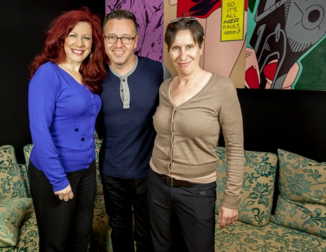 Singer / Songwriter Lucy Gale, Psychic Medium  superstar John Edward and Kerrie Pacholli