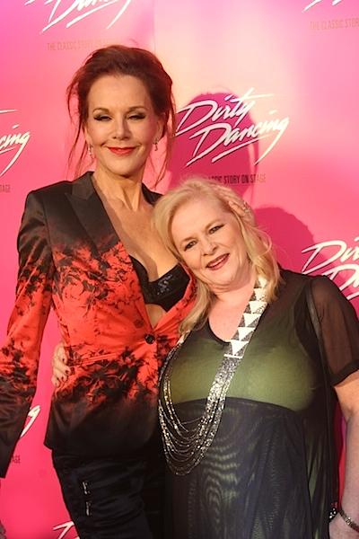 Rhonda Burchmore and Collette Mann