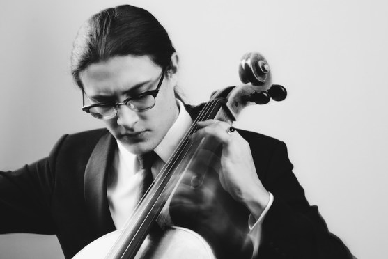 The Man Behind the Cello