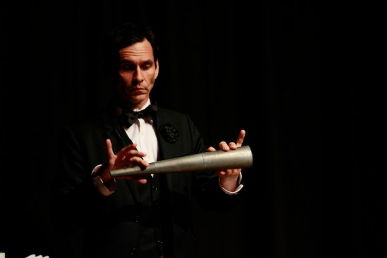 Rob Zabrecky performing at Melbourne Magic Festival June 29 – 11 July