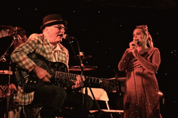 Bluesman Doc White and sultry Jazz sensation Nichaud Fitzgibbon