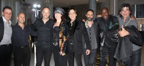 The Extremes from (l - r) John Roberts (guitar / vocals), Peter Mollica (bass), Darryn Faruge (drums), Lucy Gale & Dominic Ross (vocals), Norm Falvo (piano), John Toney (percussion / vocals and Gary Deleo (saxophone / clarinet).