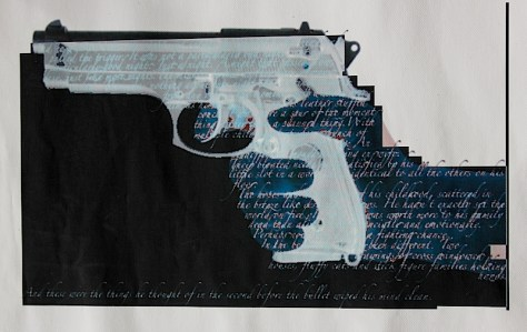 Ghost Gun by artist Benjamin Box.