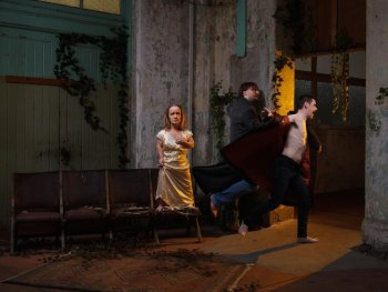 Cast: Leisa Prowd, Ryan New and Paul Mately