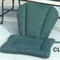 Barrel Chair Cushions Elmo Potty Wrought Iron Patio Furniture Patiopads Com Cl603 Pad With Channel Back