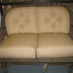 Wicker Chair Cushion Replacements Dining Room Seat Covers Amazon Erwin And Sons Cushions Patiopads