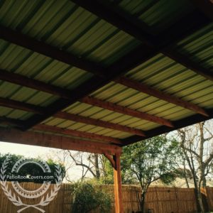 metal roofs patio roof covers