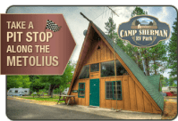 Patio RV Park   Relax in the shade of the many maple trees
