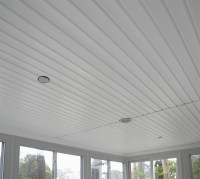 Installing Vinyl Soffit Carport Ceiling