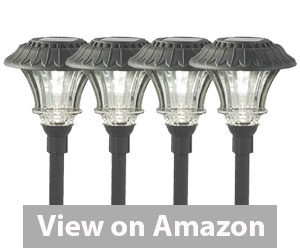 Best Outdoor Solar Lights - Plow & Hearth Solar Garden Path Lights Review