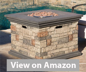 Best Fire Pit - Stonecrest Outdoor Propane (Gas) Fire Pit Review
