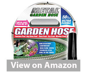Best Garden Hose - Metal Garden Hose Review