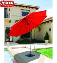 Best Selection Tilt Patio Umbrellas - Galtech 9' Manual ...