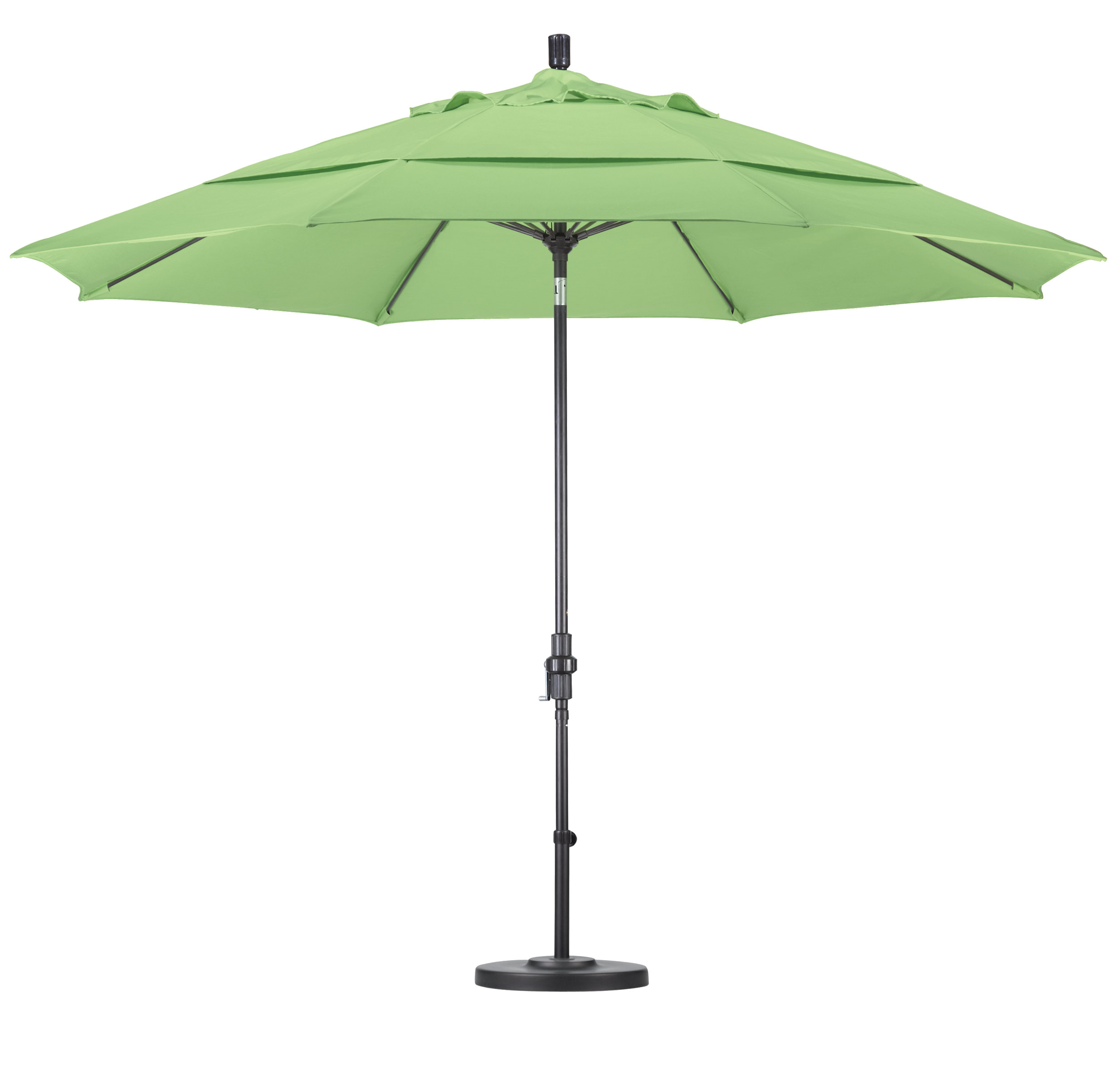 Galtech 11 Auto Tilt Patio Umbrella W LED Lights