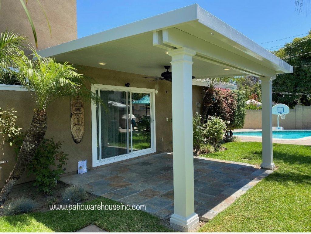 aluminum insulated white roof panels
