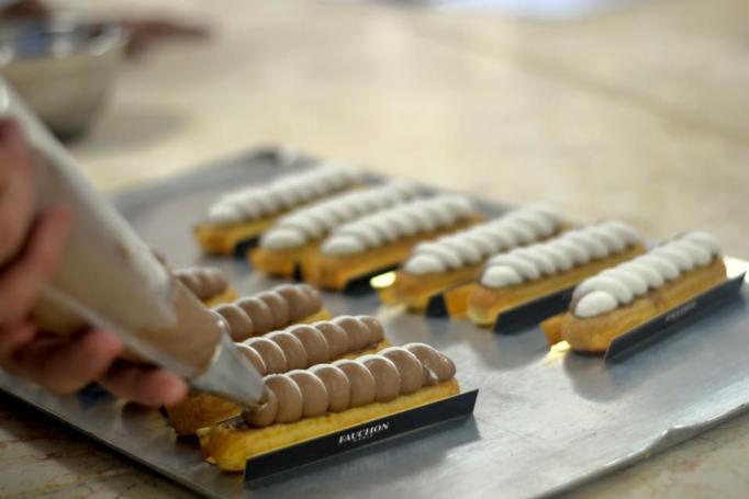 זילוף ספירלה שוקולד וניל צילום: ליאורה פרי