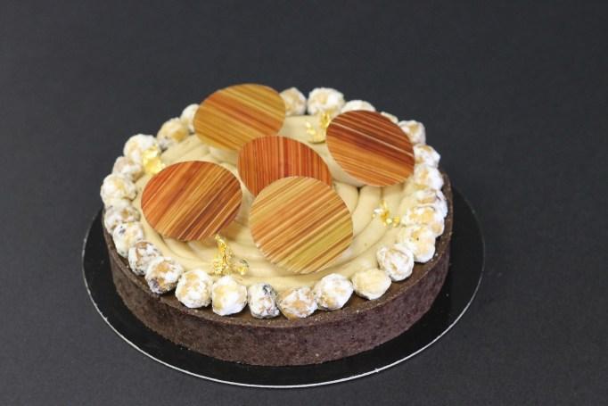 טארט שוקולד ואגוזי לוז