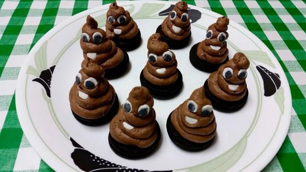 עוגיות אימוג׳י POOP ניחוח לישה