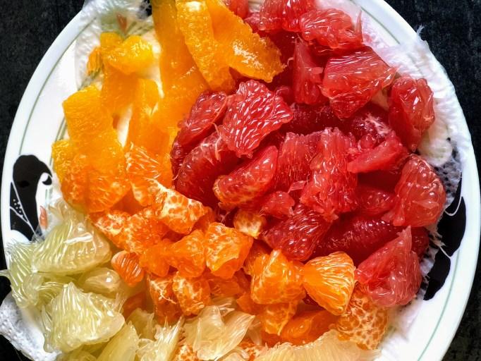 טירמיסו פירות הדר מפואר ונהדר