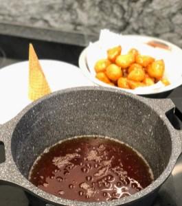 לגירסת הקרוקומבוש - מכינים קרמל