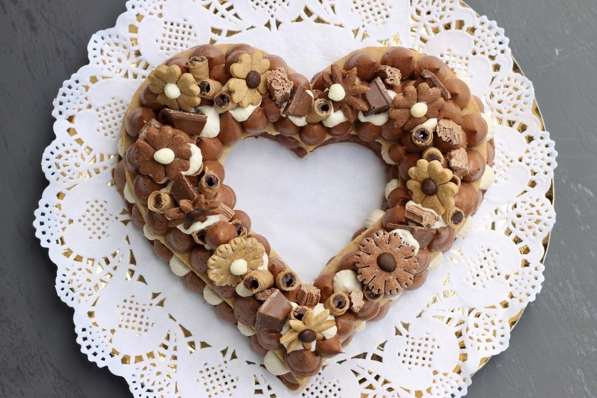 עוגת המספרים שוקולד-קפה - פרווה, כשרה לפסח וללא גלוטן