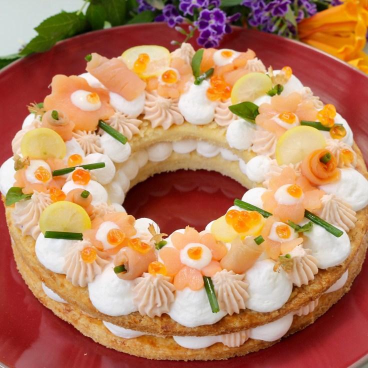 עוגת המספרים - הגירסה המלוחה