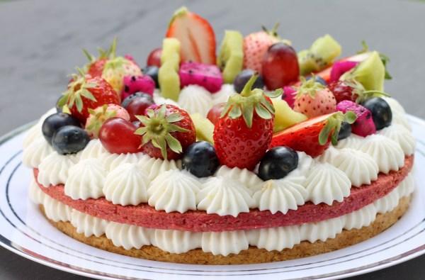 עוגת המספרים לשבועות