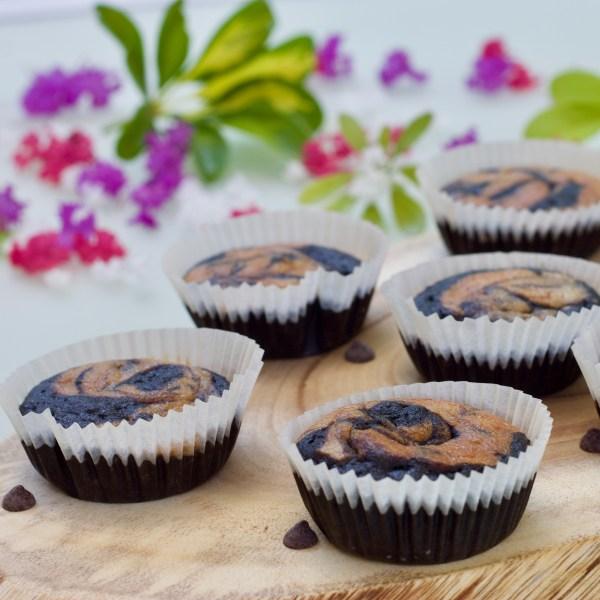 מאפיינס שוקולד בננה