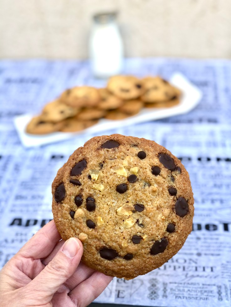עוגיות שוקולד צ׳יפס, חמאת בוטנים ובננה