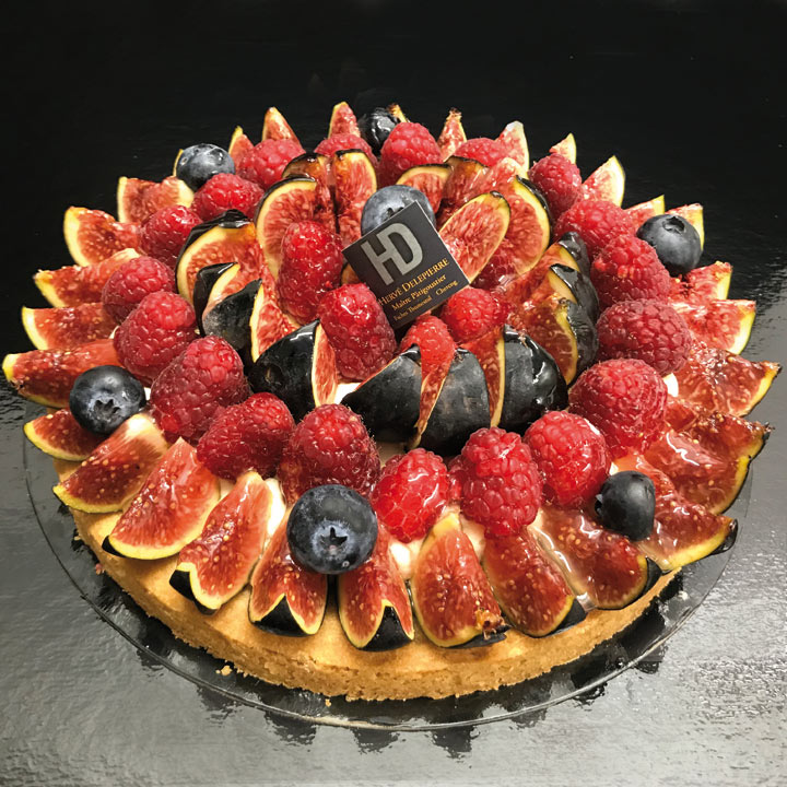 Patisserie - Les tartes - Tarte fruits