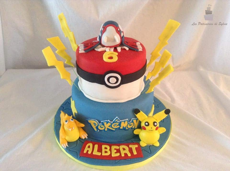 gateau pokemon. Black Bedroom Furniture Sets. Home Design Ideas
