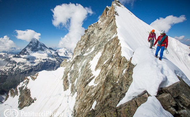 Climbing The Obergabelhorn Patitucciphoto