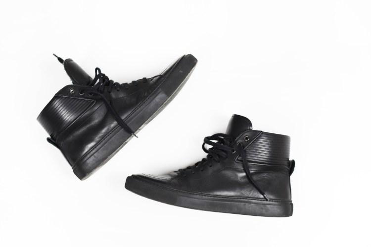 Sandro paris hightop sneaker schwarz