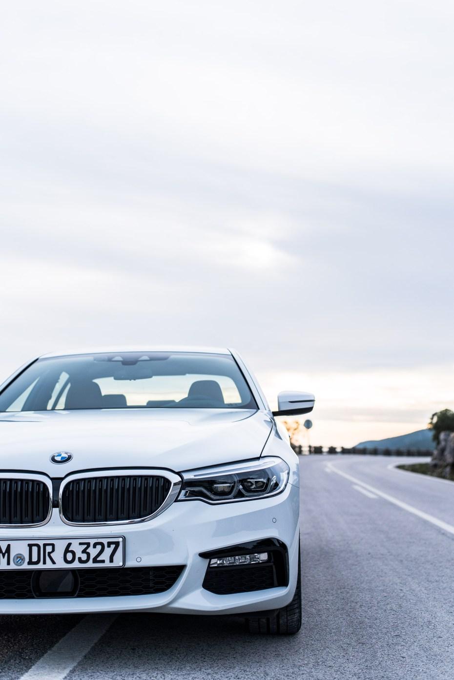 der neue BMW 5er BMW 540i sDrive M Sport