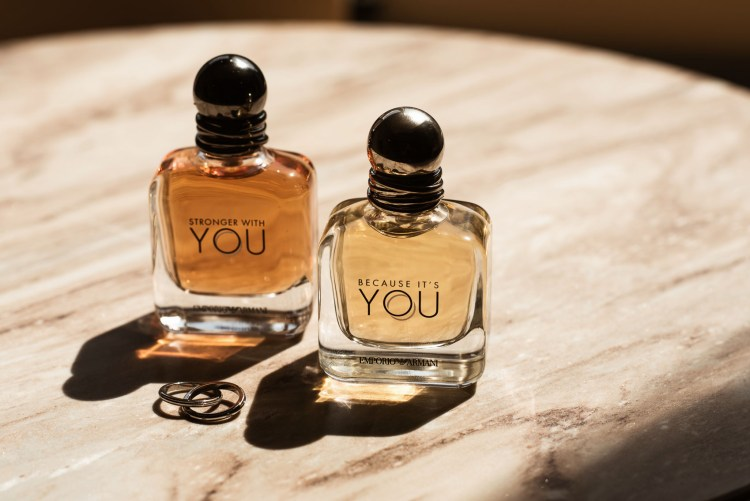 Emporio Armani stronger with you & because it's you