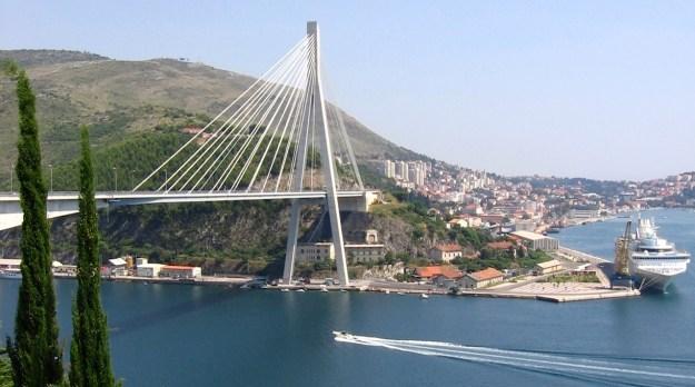 Dubrovnik F.Tudjman-Bridge