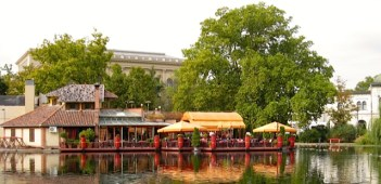 Budapest Hungary Robinson's Restaurant