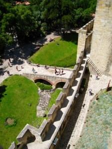Entrance to Saint George's Castle