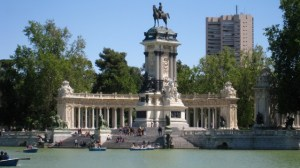 Boating Lake at El Retiro