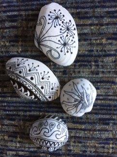 Zentangled shells