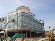 Factory built apartments