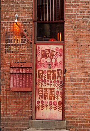 Front Str Doorway Brooklyn, New York