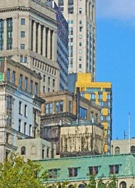 Manhattan building and Sky