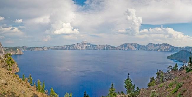 Crater Lake Thunderheads