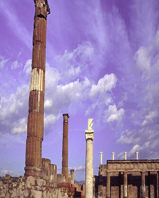 Pompeii Towers Italy