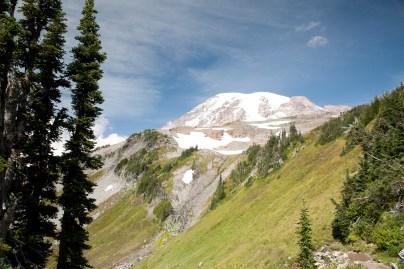 Mt Rainier, Mid-Summer View