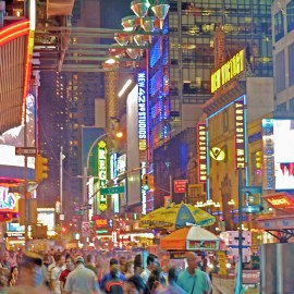 Midnight on Times Square