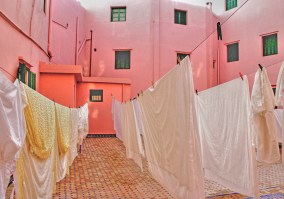 Sheets Drying, Tangiers