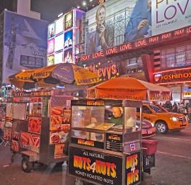 Street Vendor, Times Square, New York